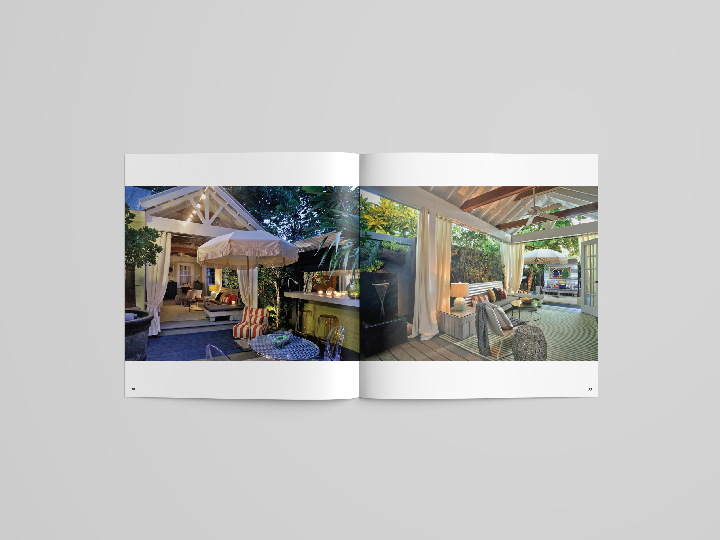 Debra Yates Key West art book pages garden design