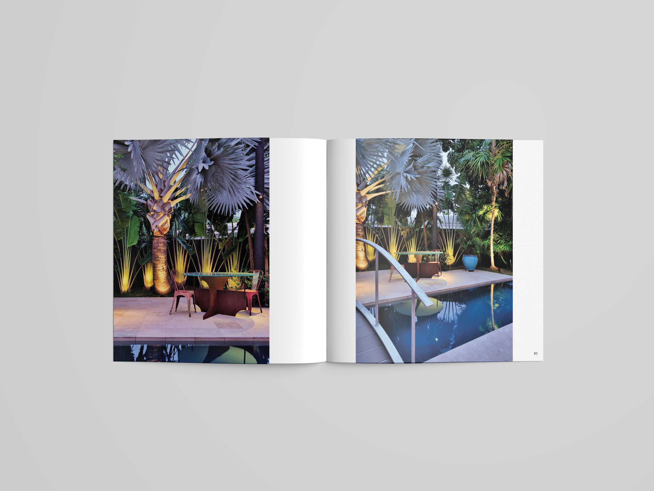 Debra Yates Key West art book pages exterior design